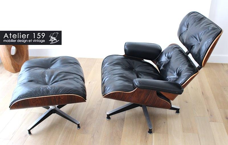 les secrets de la lounge chair de charles et ray eames atelier 159. Black Bedroom Furniture Sets. Home Design Ideas